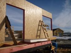 Малоэтажное строительство из сип панелей