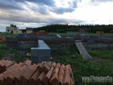 Строительство дома 260м2 коттеджный посёлок Александрия 20...