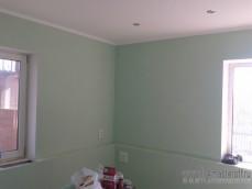 Частный Дом, отделка ГКЛ потолок стены, короба под батарею, точечное освещение+разводка+ро...